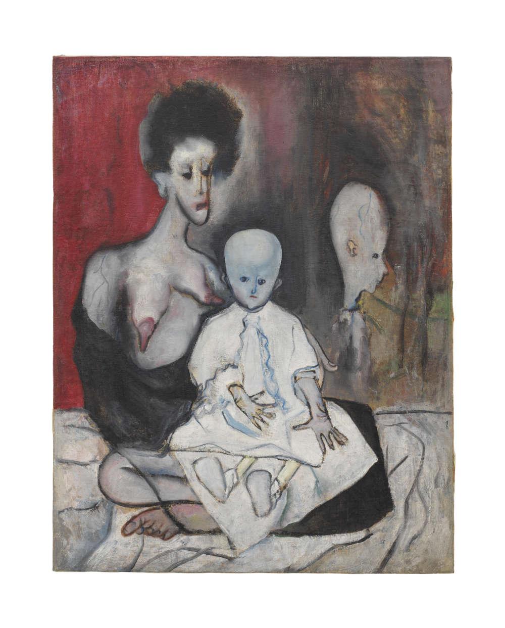 Alice Neel, Degenerate Madonna, 1930. The Estate of Alice Neel. Courtesy The Estate of Alice Neel and David Zwirner © The Estate of Alice Neel