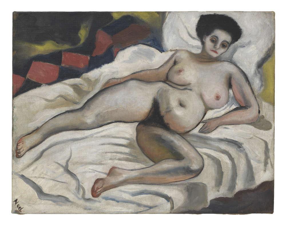 Alice Neel, Nadya Nude, 1933. The Estate of Alice Neel. Courtesy The Estate of Alice Neel and David Zwirner © The Estate of Alice Neel