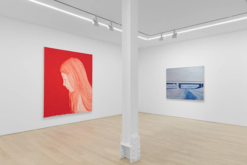 Almine Rech Gallery New York Joe Andoe 5