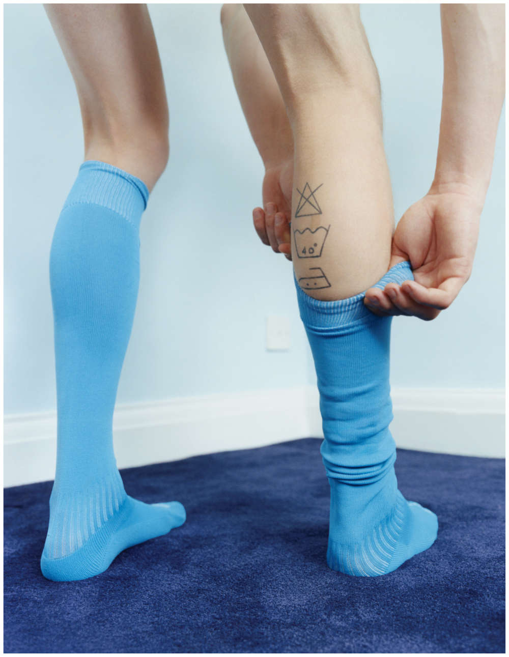 Coco Capitán, Boy in Socks, 2017 © Coco Capitán, courtesy of the artist