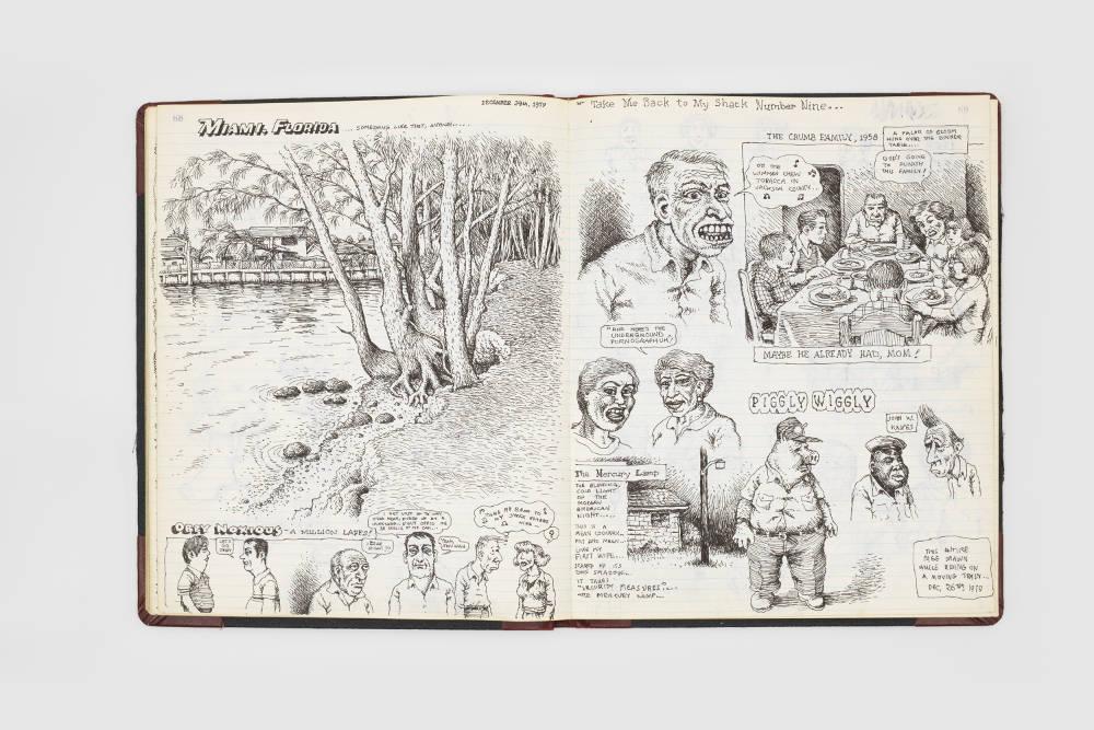 Robert Crumb's sketchbooks | Design Week