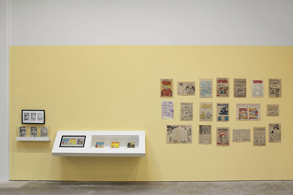 David Zwirner 19th St Drawing for Print R Crumb 1