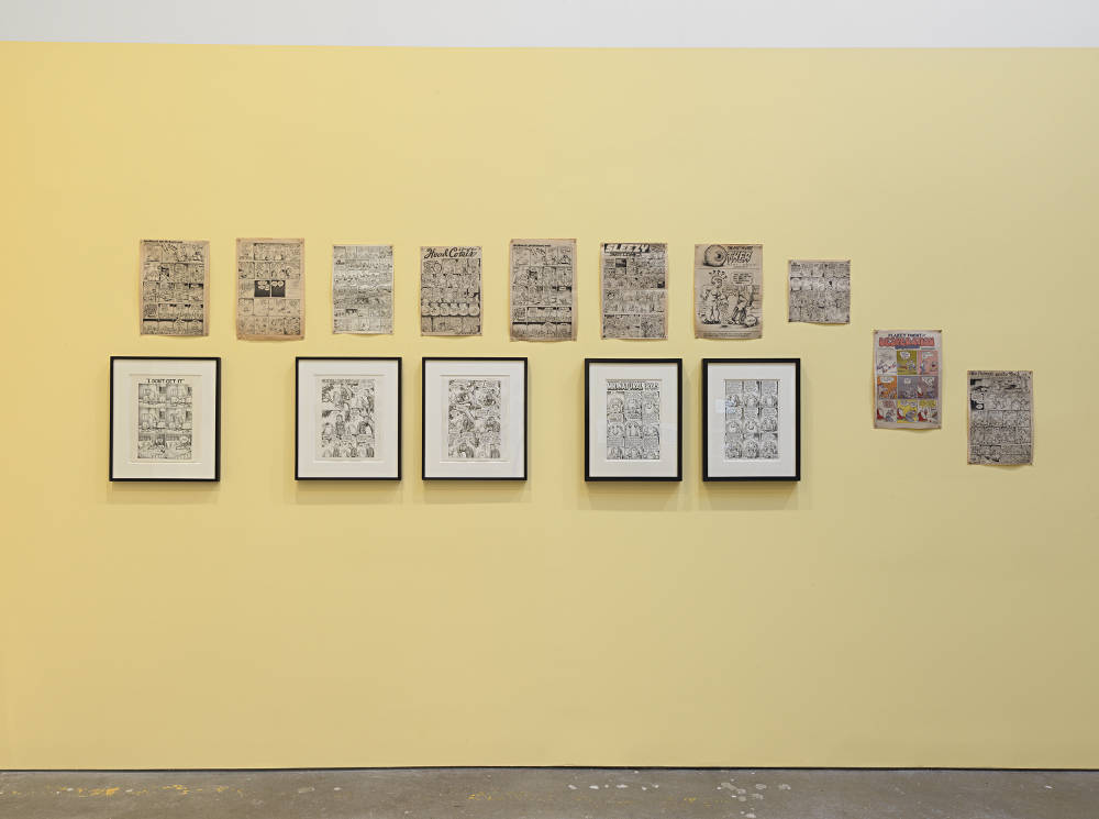 David Zwirner 19th St Drawing for Print R Crumb 4