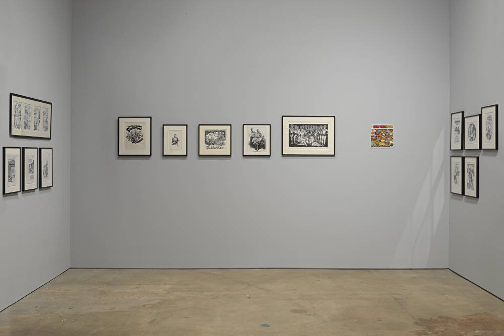 David Zwirner 19th St Drawing for Print R Crumb 5