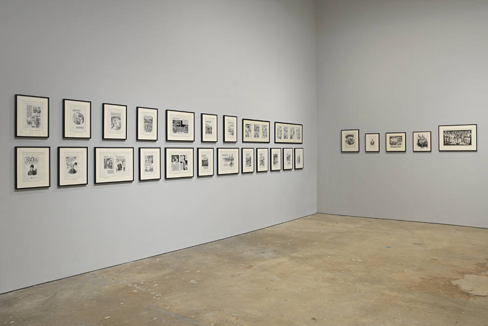 David Zwirner 19th St Drawing for Print R Crumb 6