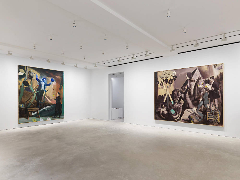 D Art Exhibition Hong Kong : Neo rauch propaganda at david zwirner