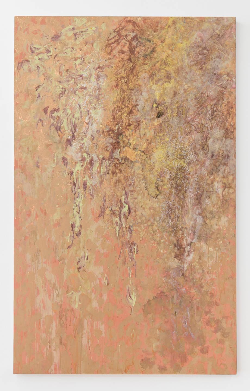 Flavio Garciandía, Ya no puedo más, 2018. Acrylic on canvas 196.5 x 122 cm (77 3/8 x 48 in.) signed and dated verso