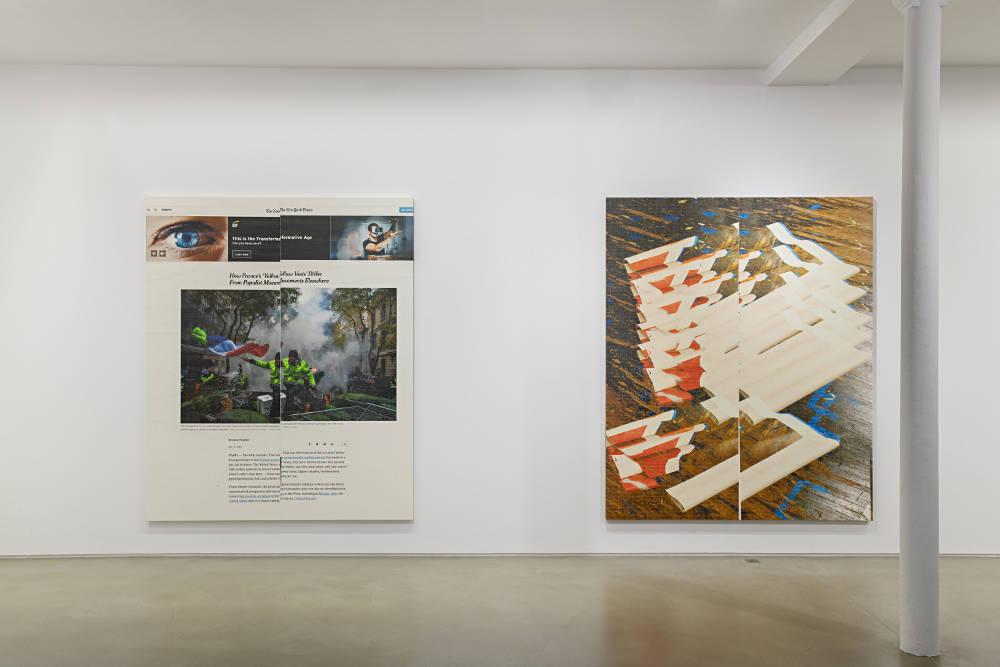 Galerie Chantal Crousel Wade Guyton 5