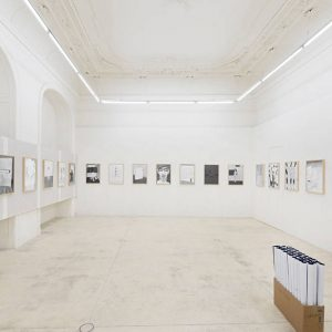 Werner Reiterer: Draw the line to catch the time @Galerie Krinzinger, Vienna  - GalleriesNow.net