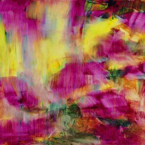 Herbert Brandl: Der Regen @Galerie nächst St. Stephan Rosemarie Schwarzwälder, Vienna  - GalleriesNow.net