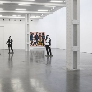 Julian Opie @Lisson Gallery, New York, New York  - GalleriesNow.net