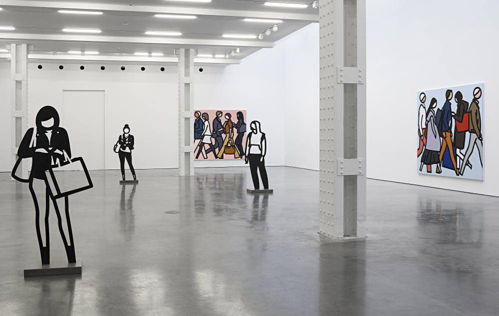 Lisson Gallery New York Julian Opie 1