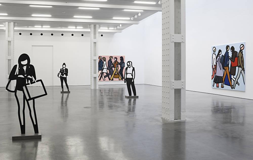 Julian Opie at Lisson Gallery