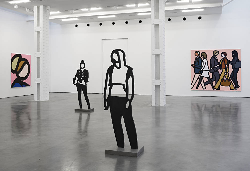 Lisson Gallery New York Julian Opie 2