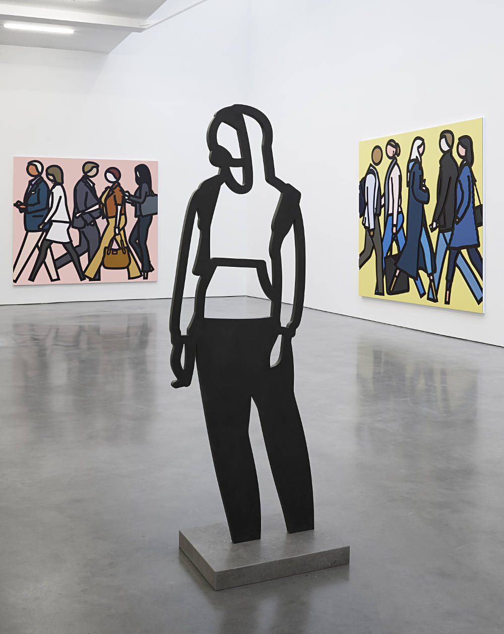 Lisson Gallery New York Julian Opie 3