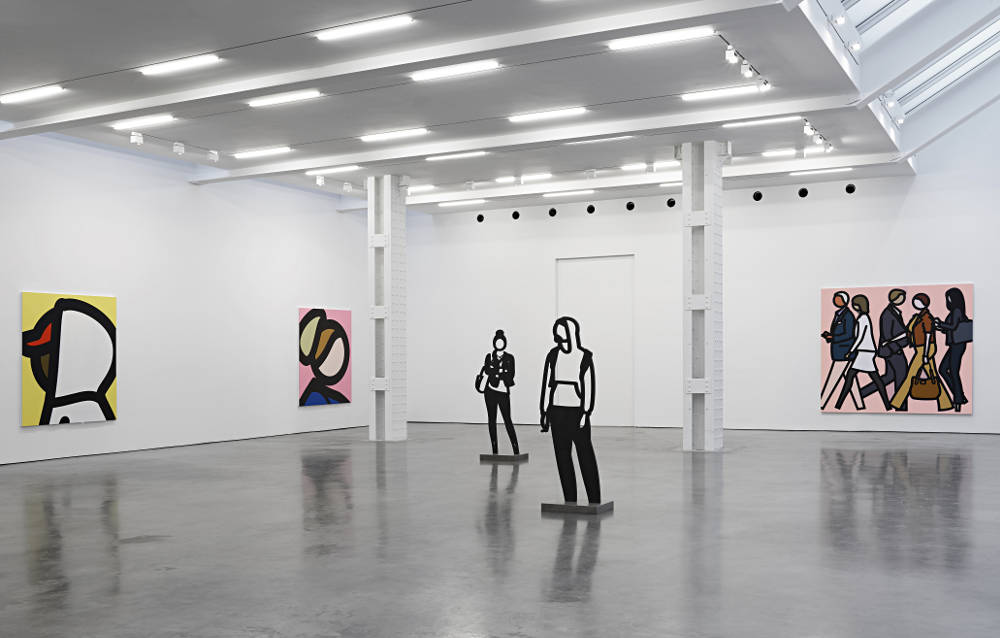 Lisson Gallery New York Julian Opie 4