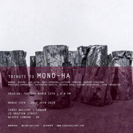 Tribute to Mono-Ha @Cardi Gallery, London, London  - GalleriesNow.net