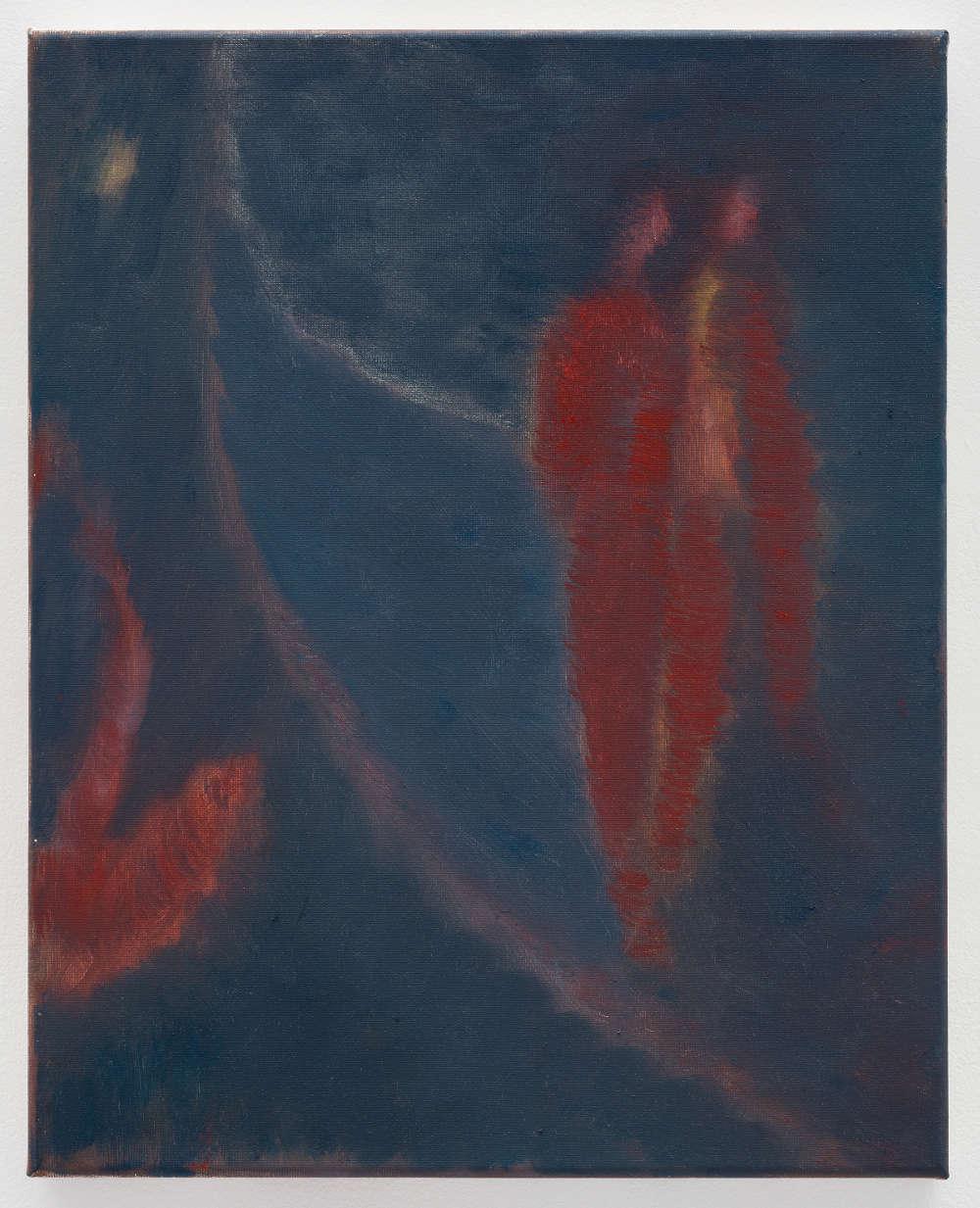 Behrang Karimi, Swan song, 2019. Oil on canvas 50 x 40 cm © Behrang Karimi, courtesy Maureen Paley, London