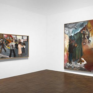 Jörg Immendorff: Questions from a Painter Who Reads @Michael Werner, Upper East Side, New York  - GalleriesNow.net