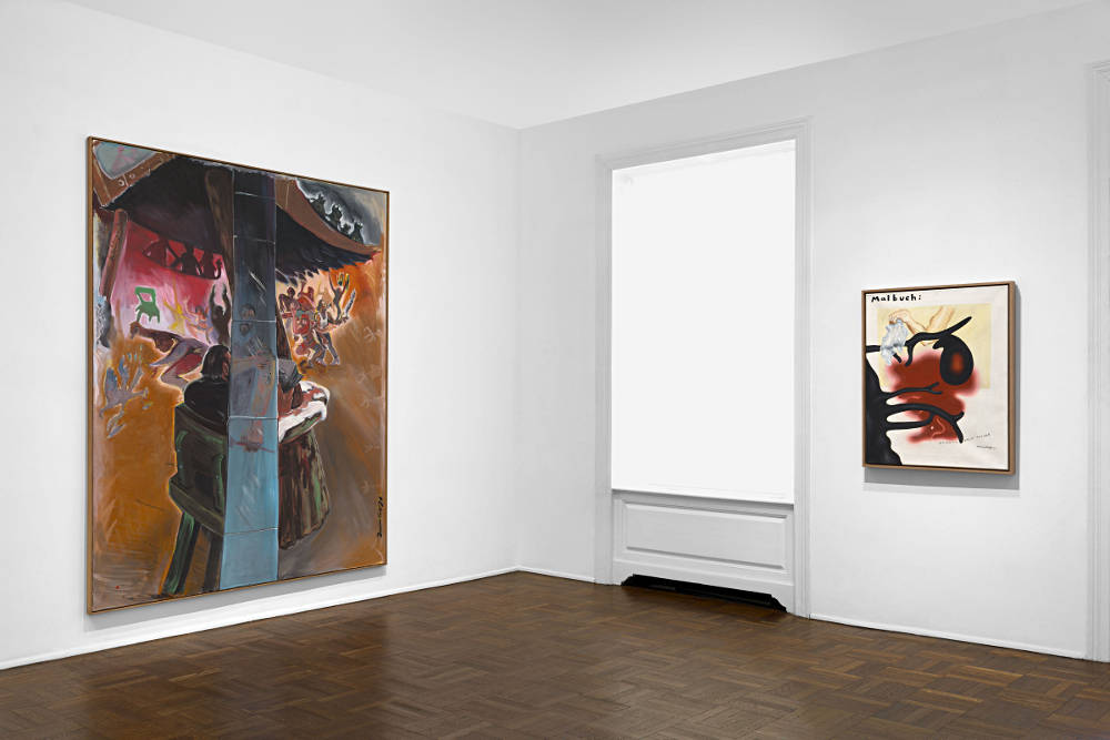 Michael Werner New York Jorg Immendorff 3