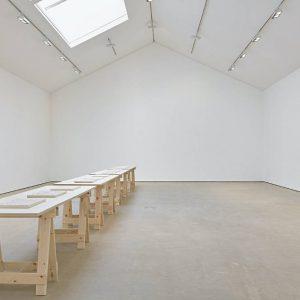 Anna-Bella Papp: Plans for an unused land @Modern Art Vyner Street, London  - GalleriesNow.net