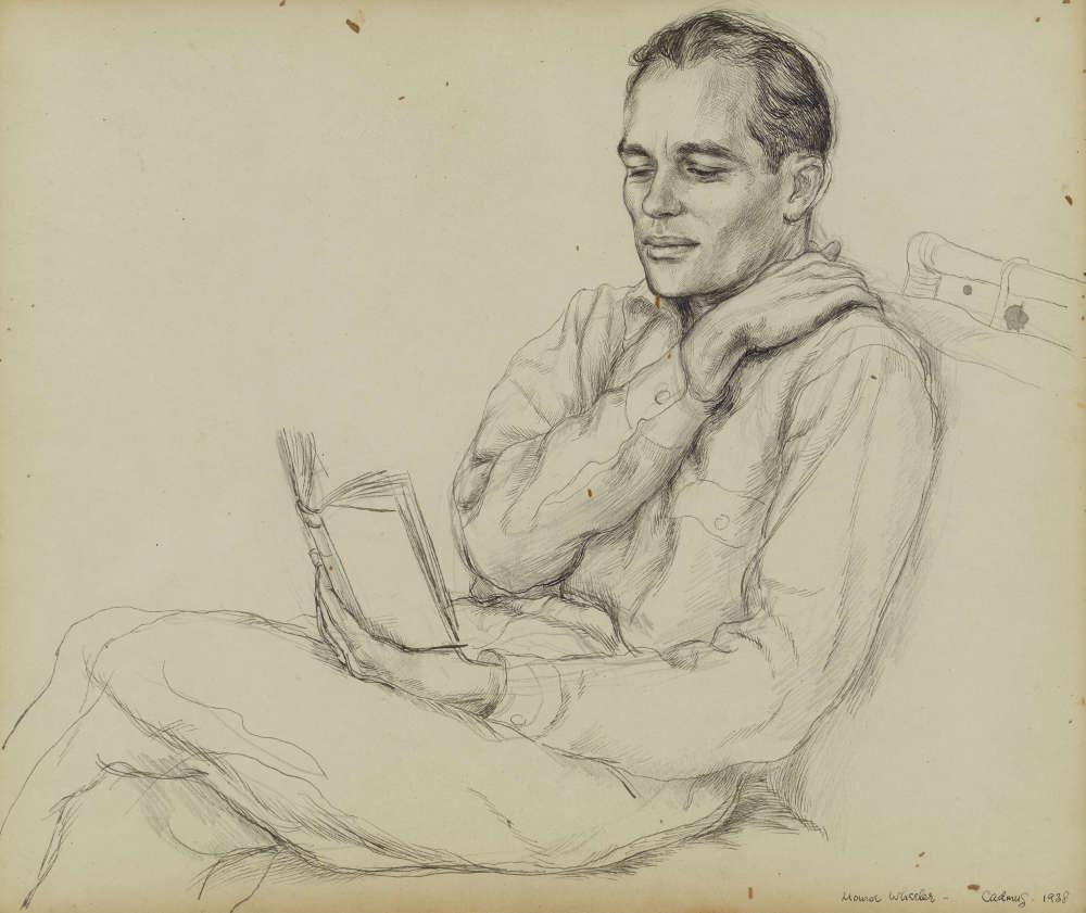 Paul Cadmus, Monroe Wheeler, 1938 © 2019 Estate of Paul Cadmus / Artists Rights Society (ARS), NY