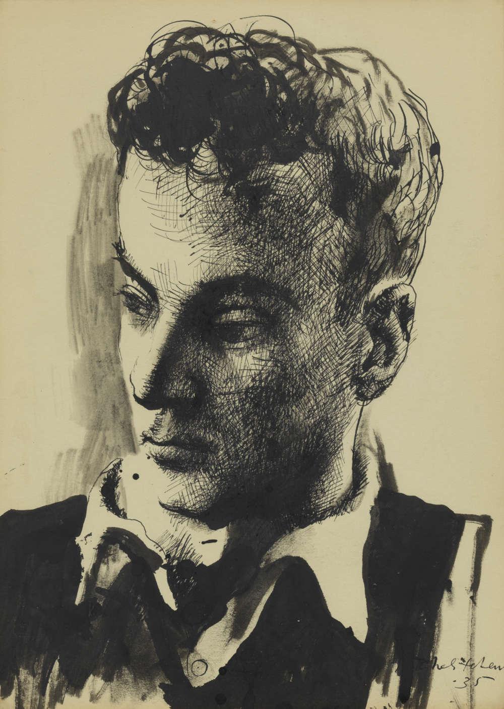 Pavel Tchelitchew, Portrait, 1935