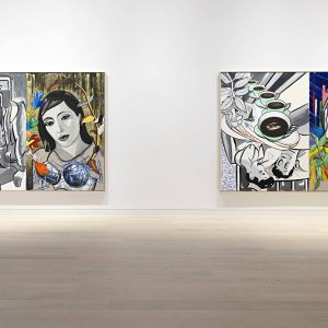 David Salle: Musicality and Humour @Skarstedt, London  - GalleriesNow.net