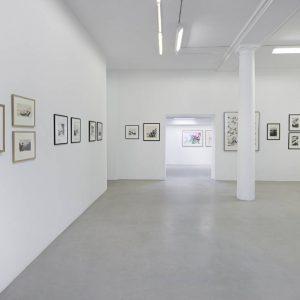 Zao Wou-Ki: Encres et aquarelles (1948-2009) @kamel mennour, r. Saint-André des arts, Paris  - GalleriesNow.net