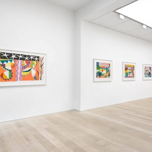 Gillian Ayres: Song Beneath the Stars @Alan Cristea Gallery, London  - GalleriesNow.net