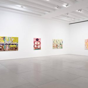 Joan Snyder: Rosebuds & Rivers @Blain|Southern, Hanover Sq, London  - GalleriesNow.net