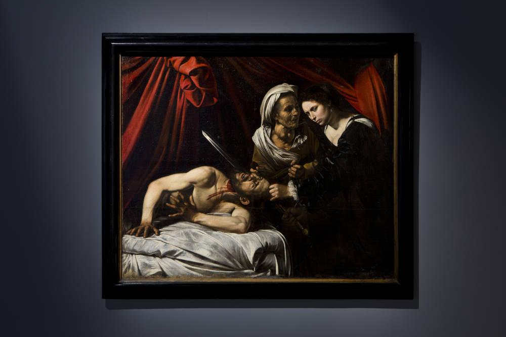 Michelangelo Merisi, known as Caravaggio (1571-1610), Judith and Holofernes, c. 1607. Canvas 1.44. L. 1.735 cm