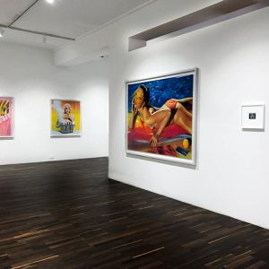 Miles Aldridge: Screenprints, Polaroids and Drawings @Christophe Guye Galerie, Zürich  - GalleriesNow.net