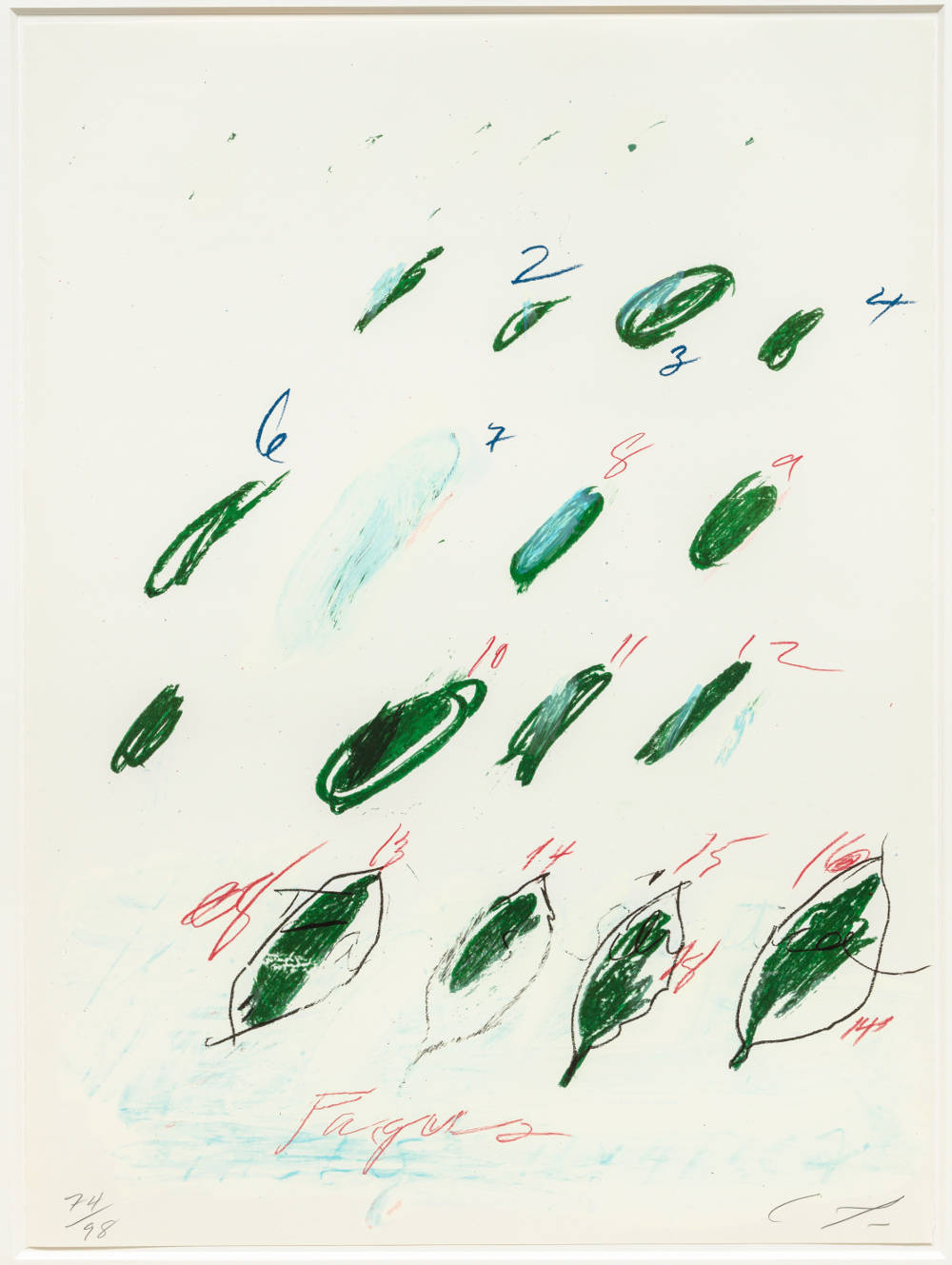 Cy Twombly Bastian