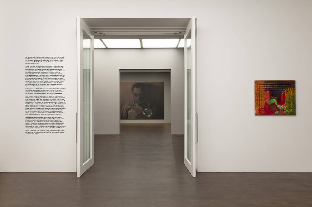 Visions of the Self: Rembrandt and Now at Gagosian