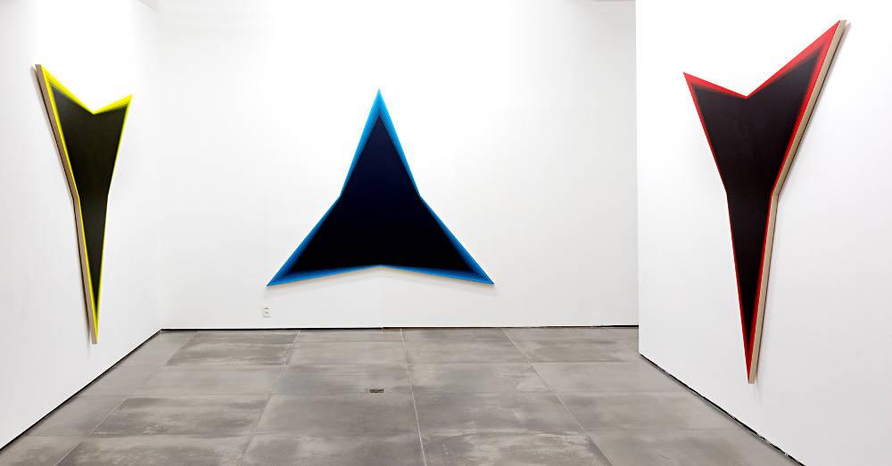 Galeria Nara Roesler Rio de Janeiro Philippe Decrauzat 3