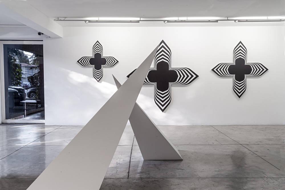 Galeria Nara Roesler Sao Paulo Philippe Decrauzat 2