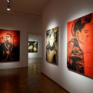Andreas Leikauf: sometimes we fall, sometimes we float @Galerie Ernst Hilger, Vienna  - GalleriesNow.net