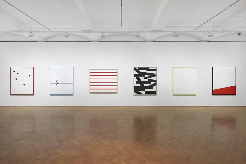 Galerie Thaddaeus Ropac London Gerwald Rockenschaub 2