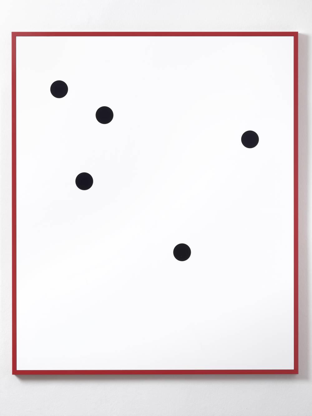 Gerwald Rockenschaub, Untitled (Relief), 2018. Acrylglas, Rahmen NCS S 1085-Y90R 150 x 125 cm (59,06 x 49,21 in) Courtesy Galerie Thaddaeus Ropac, London / Paris / Salzburg © Gerwald Rockenschaub. Photo: Ben Westoby