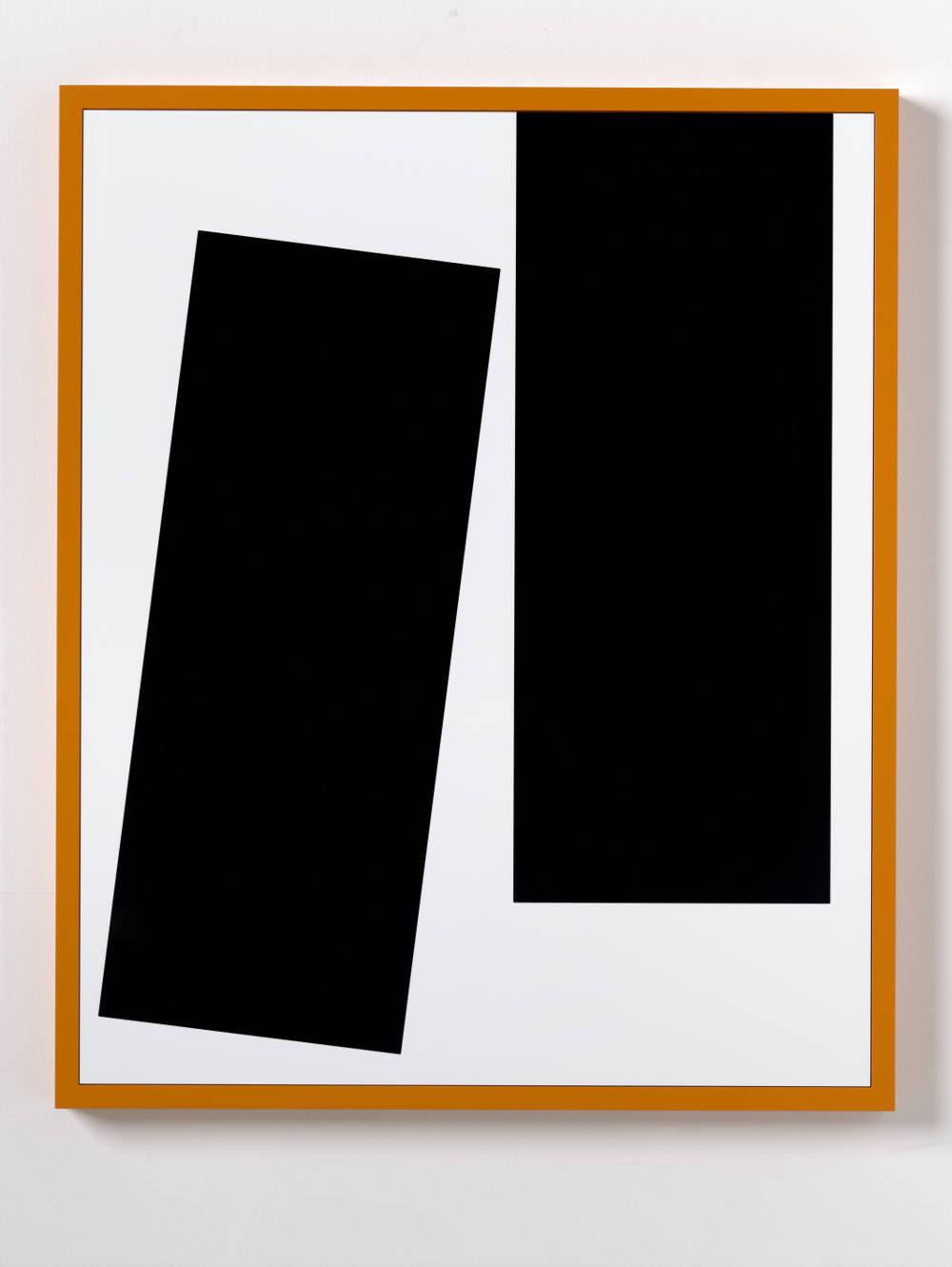 Gerwald Rockenschaub, Untitled (Intarsie), 2018. Acrylglas, MDF lackiert 84 x 69 cm (33,07 x 27,17 in) Courtesy Galerie Thaddaeus Ropac, London / Paris / Salzburg © Gerwald Rockenschaub. Photo: Ben Westoby