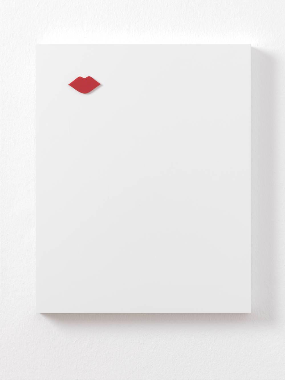 Gerwald Rockenschaub, Untitled (Relief), 2018. Acrylglas, MDF lackiert 50 x 40 x 3 cm (19,69 x 15,75 x 1,18 in) Courtesy Galerie Thaddaeus Ropac, London / Paris / Salzburg © Gerwald Rockenschaub. Photo: Ben Westoby