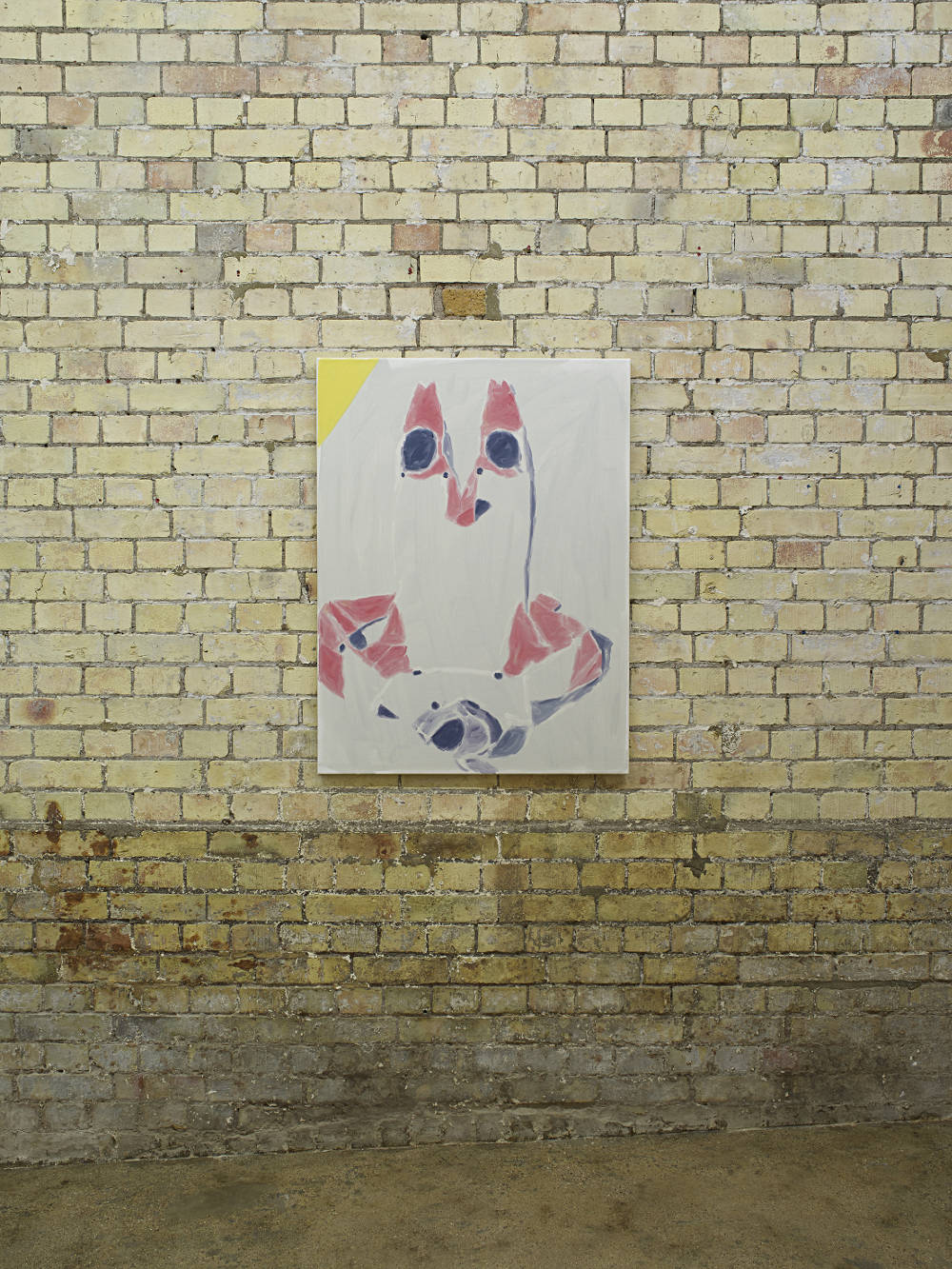 Bruno Pacheco, Cameo, 2017. Oil on canvas, photo: Andy Keate, courtesy the artist and Hollybush Gardens