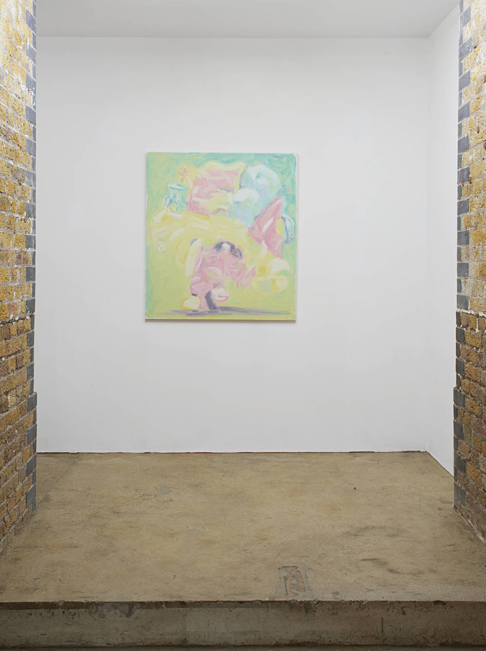 Bruno Pacheco, Puff!!! (Sissiphilous), 2018. Oil on canvas, photo: Andy Keate, courtesy the artist and Hollybush Gardens