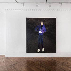 Florian Krewer: Car Park Godiva @Michael Werner Gallery, Mayfair, London  - GalleriesNow.net