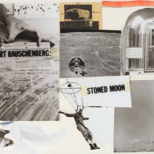 Robert Rauschenberg: Stoned Moon 1969-70 @Craig F. Starr Gallery, New York  - GalleriesNow.net