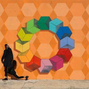 Robin Rhode: The Broken Wall @kamel mennour, avenue Matignon, Paris  - GalleriesNow.net