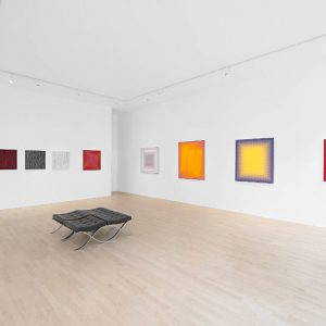 Julian Stańczak: Don't Talk, Just look @The Mayor Gallery, London  - GalleriesNow.net