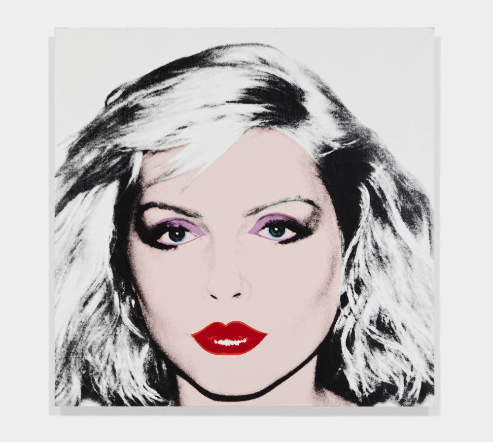 Andy Warhol, Blondie, 1981. Acrylic and silkscreen ink on canvas 42 x 42 inches (106.68 x 106.68 cm) © 2019 The Andy Warhol Foundation for the Visual Arts, Inc. / Licensed by Artists Rights Society (ARS), New York. Private Collection
