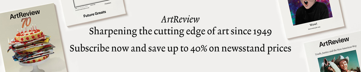 ArtReview advertisement